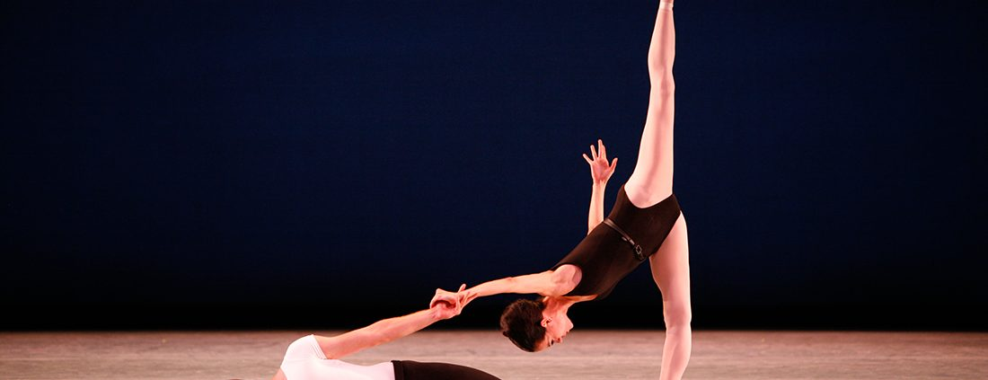 George Balanchine's Agon ballet performed by Ballet Arizona featuring Natalia Magnicaballi