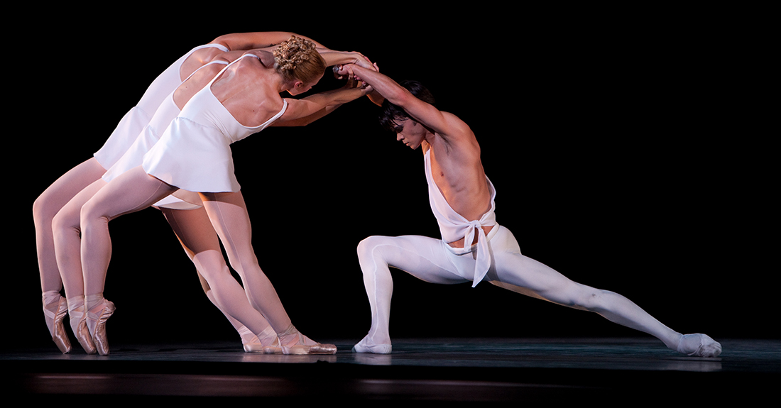 George Balanchine's Apollo ballet performed by Ballet Arizona featuring Roman Zavarov