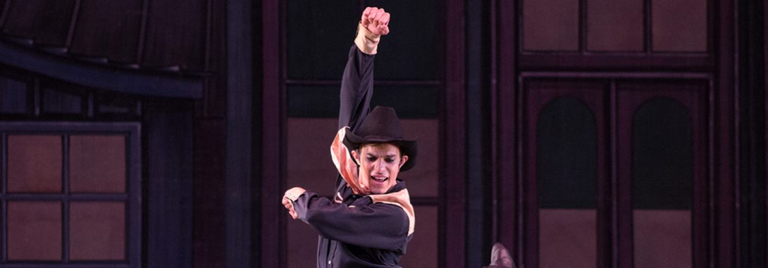 George Balanchine's Western Symphony ballet performed by Ballet Arizona featuring Nayon Iovino