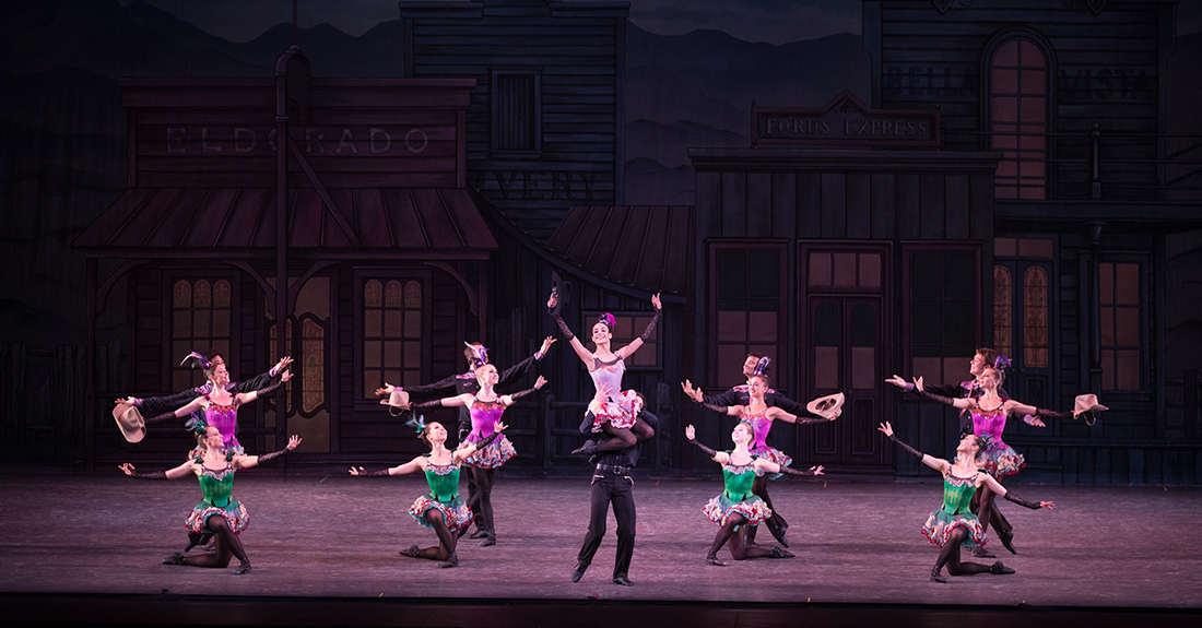 George Balanchine's Western Symphony ballet performed by Ballet Arizona