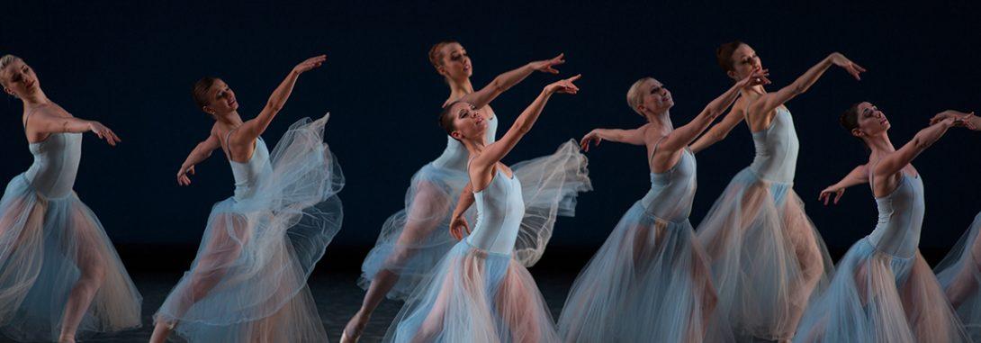 Michelle Vagi in Balanchine's Seranade