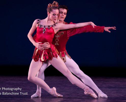 Jillian Barrell and Nayon Iovino in Balanchine's Rubies