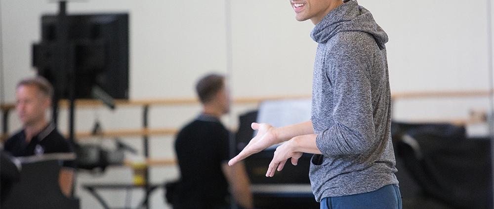 Choreographer Justin Peck