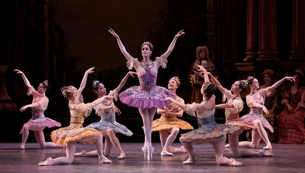 The Sleeping Beauty Fairies. Ballet Arizona.
