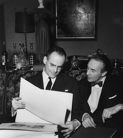 Lincoln Kirstein, George Balanchine.