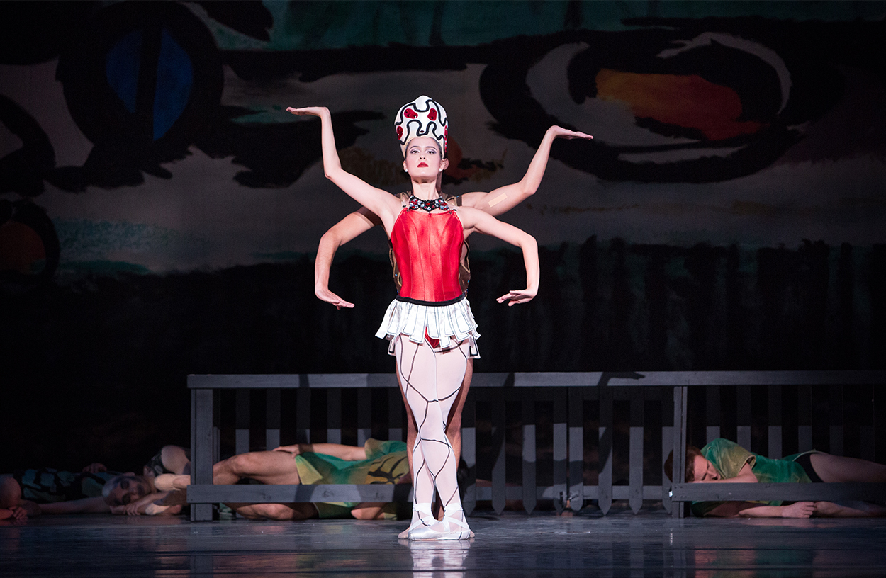 Mimi Tompkins in George Balanchine's Prodigal Son
