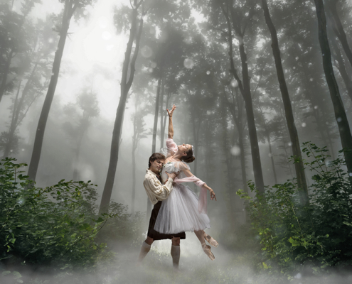 dancer's in famous romantic ballets