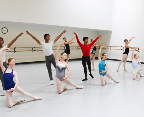 Choosing a Ballet Studio